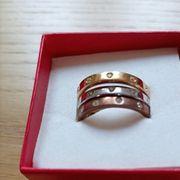 Ring von Swarovski Kristall Schmuck