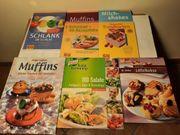 8 Koch- und Backbücher