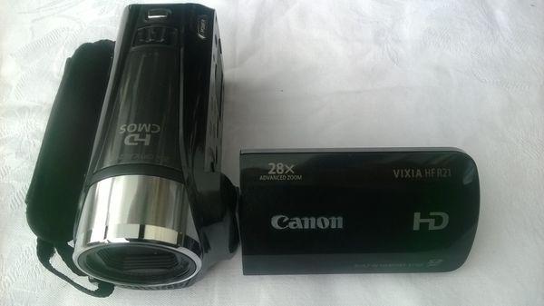 Camcorder VIXIA HF R21 (USA) Legria HF R28 (Deutsch)