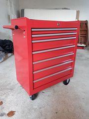 Arebos Werkstattwagen 6 Fächer