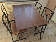 Esszimmertisch Esstisch Küchentisch mit 4