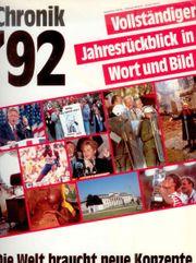 Chronik 92 Vollständiger Jahresrückblick in