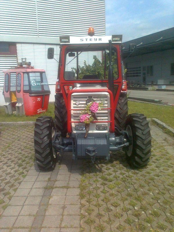 Steyr Traktor Abziehbilder Folien Sticker