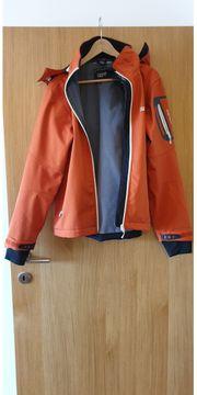 Skijacke Männer orange Größe 48