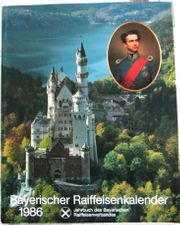Kalender Bayer Raiffeisenkalender 1986 Gelegenheit