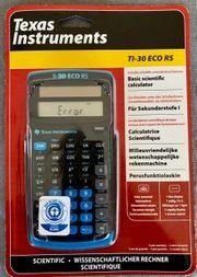 Taschenrechner Texas Instruments neu