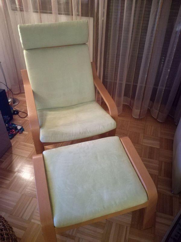 Ikea Poäng Sessel Mit Hocker In Karlsruhe Ikea Möbel Kaufen Und