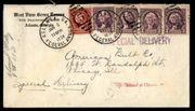 USA Briefumschlag mit Briefmarken