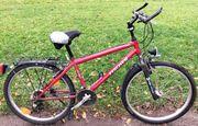 Fischer 21-Gang City Mountainbike Reifen gut