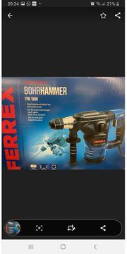 Bohrhammer Ferrex Neu 1500Watt m