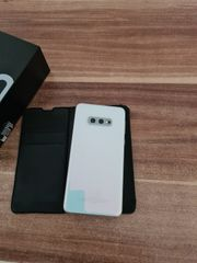 Samsung S10 in Prism White