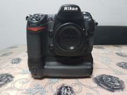 Nikon D300 Batterygrip Blitz Meike