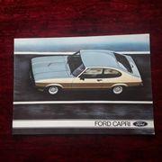 Ford Capri Autoprospekt