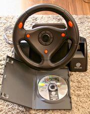 Sega Dreamcast Lenkrad Sega Rally