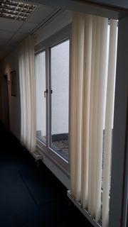Lamellenvorhang für Büro und Leinwand