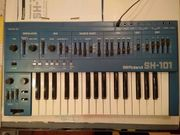 Roland SH 101 Blue Blau