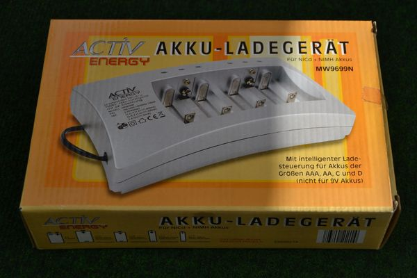 Verkaufe Akku-Ladegerät Active Energy für