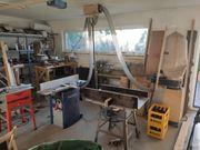 Werkstatteinrichtung für Holzbearbeitung