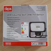 LED-Leuchte Slim 20W mit Sensor