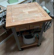 Kücheninsel Küchenrollwagen 90x60x60cm