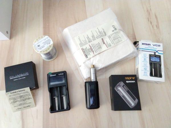 E - Zigarette - Atomiser Quasar Akkuträger