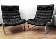 Paar Kastholm Lounge Chairs JK
