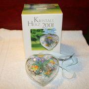 Hutschenreuther Kristall Herz 2001 Glas