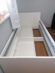 Bett mit zweitem Ausziehbett inkl