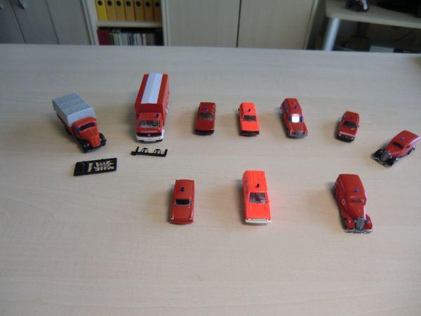 10 Feuerwehr Modelle 1 87