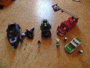 Playmobil Feuerwehrauto Polizeiauto u Eskorte