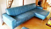 Koinor Ledersofa - Modell GARRET Couch