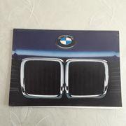 BMW Autoprospekt 1987