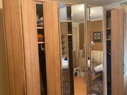 Seh moderner Schlafzimmer Schrank zu