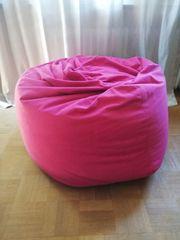 Sitzsack pink guter Zustand