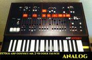 suche analog Synthesizer auch lediert