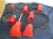 Stecker Kupplung 400 V Starkstromstecker