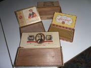 alte Zigarrenschachteln