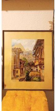 Altes Gemälde