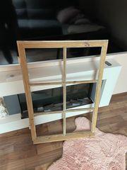 Altes Holzfenster für Bastelideen - Abgschliefen