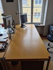 Schreibtisch USM Haller System Rechteck-Tisch