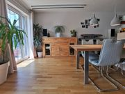 Kommode helles Holz Front aus