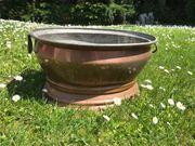 Vintage Kupfer Getränkeühler oder Pflanzgefäß