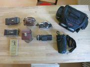 Verkaufe diverse analoge alte Kameras