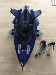 Robo-Gangster Turbo Kampfschiff 4882 vollständig
