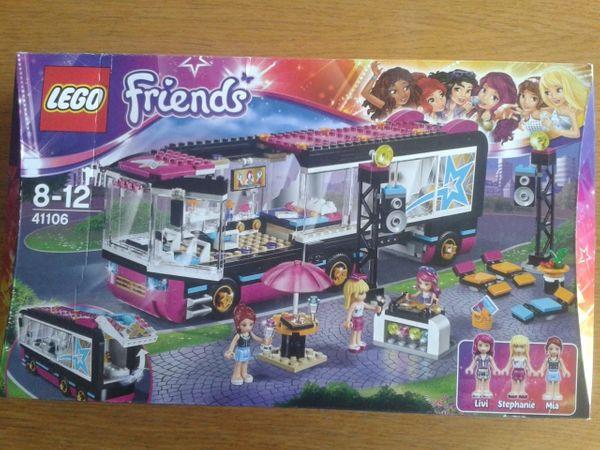 Tourbus - Lego Friends - Röthenbach - Gebrauchter Lego Friends Tourbus Nr. 41106; Zustand wie neu, da nur aufgebaut und nach kurzer Standzeit wieder eingepackt; vollständig; im original Karton mit Aufbauanleitung; tierfreier NR Haushalt; Versand möglich ( Porto zuzüglich) Abh - Röthenbach