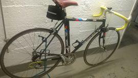 Mountain-Bikes, BMX-Räder, Rennräder - LOOK-Rennrad 51er Kohle-Kevlar-Rahmen