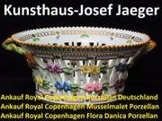Ankauf Royal Copenhagen Musselmalet Geschirr