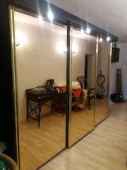 Schrank Spiegelschrank Schlafzimmer Schrank beleuchtet