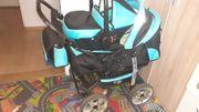 Kombikinderwagen mit Babysafe