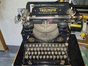 antike TRIUMPH Modell Schreibmaschine Gusseisen